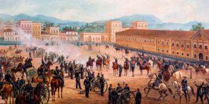 Antes de proclamar a república, Deodoro da Fonseca teve um ataque de Dispneia!